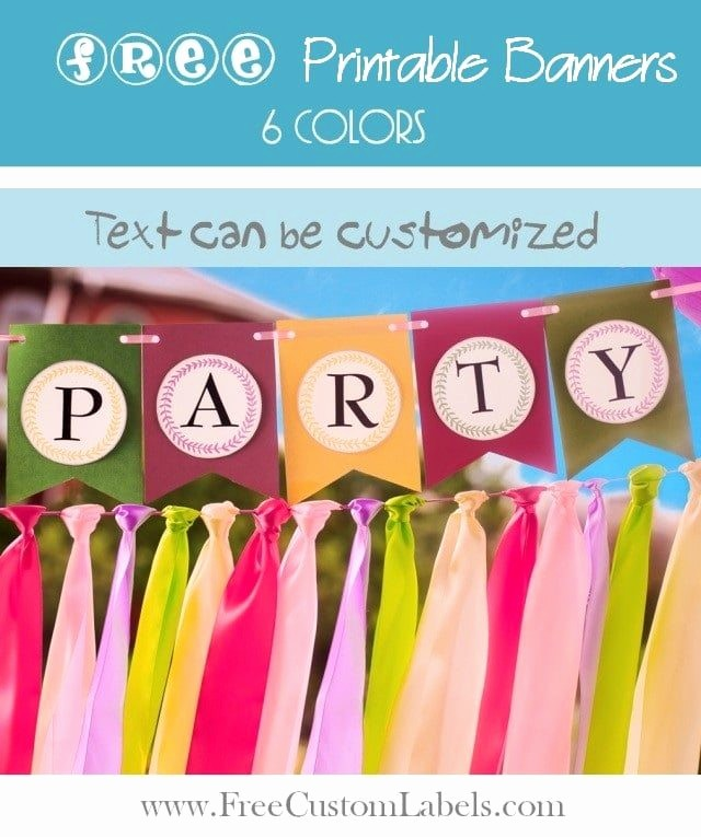 How to Make Banner Letters Awesome Free Printable Banner Letters