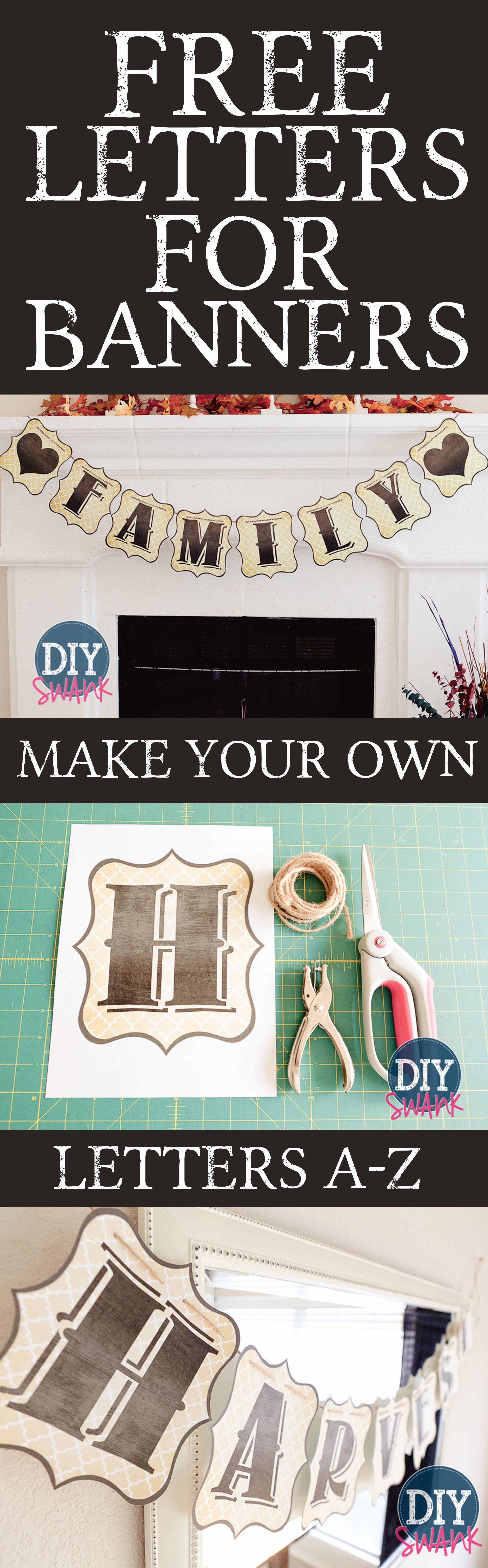 How to Make Banner Letters Best Of Free Printable Letters