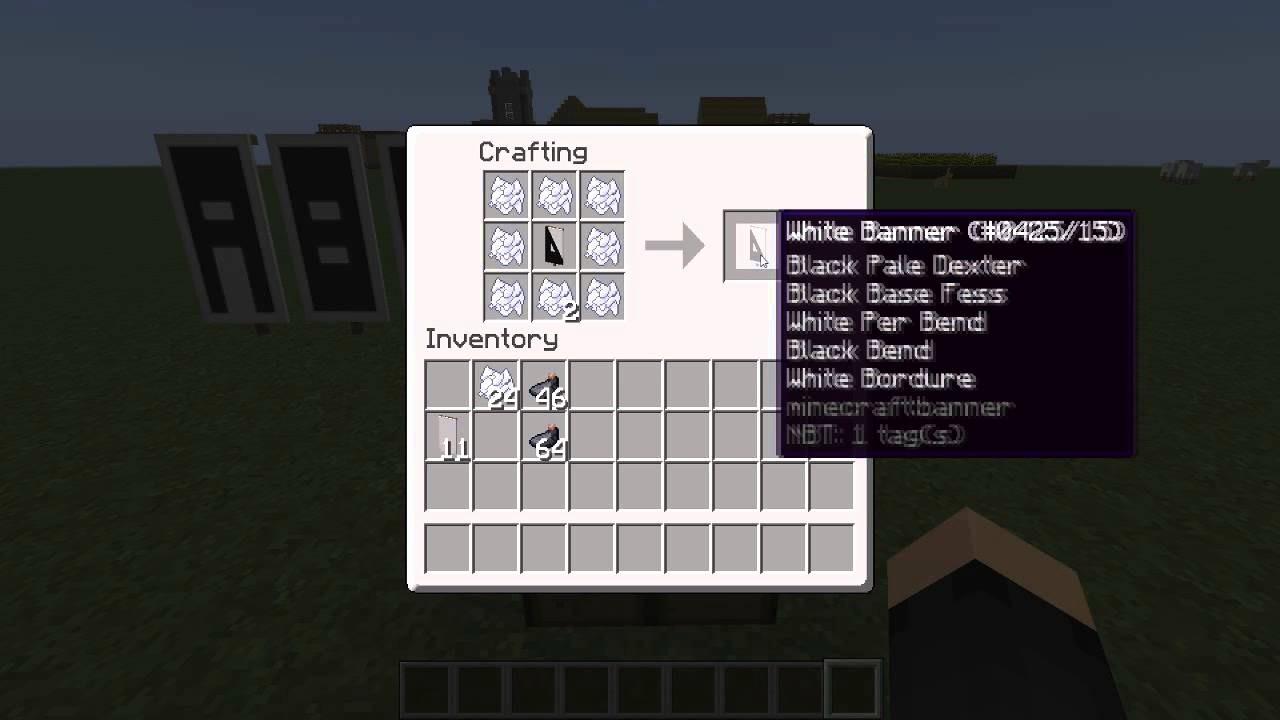 How to Make Banner Letters Fresh Minecraft Banner Tutorial 22 Letters C En D