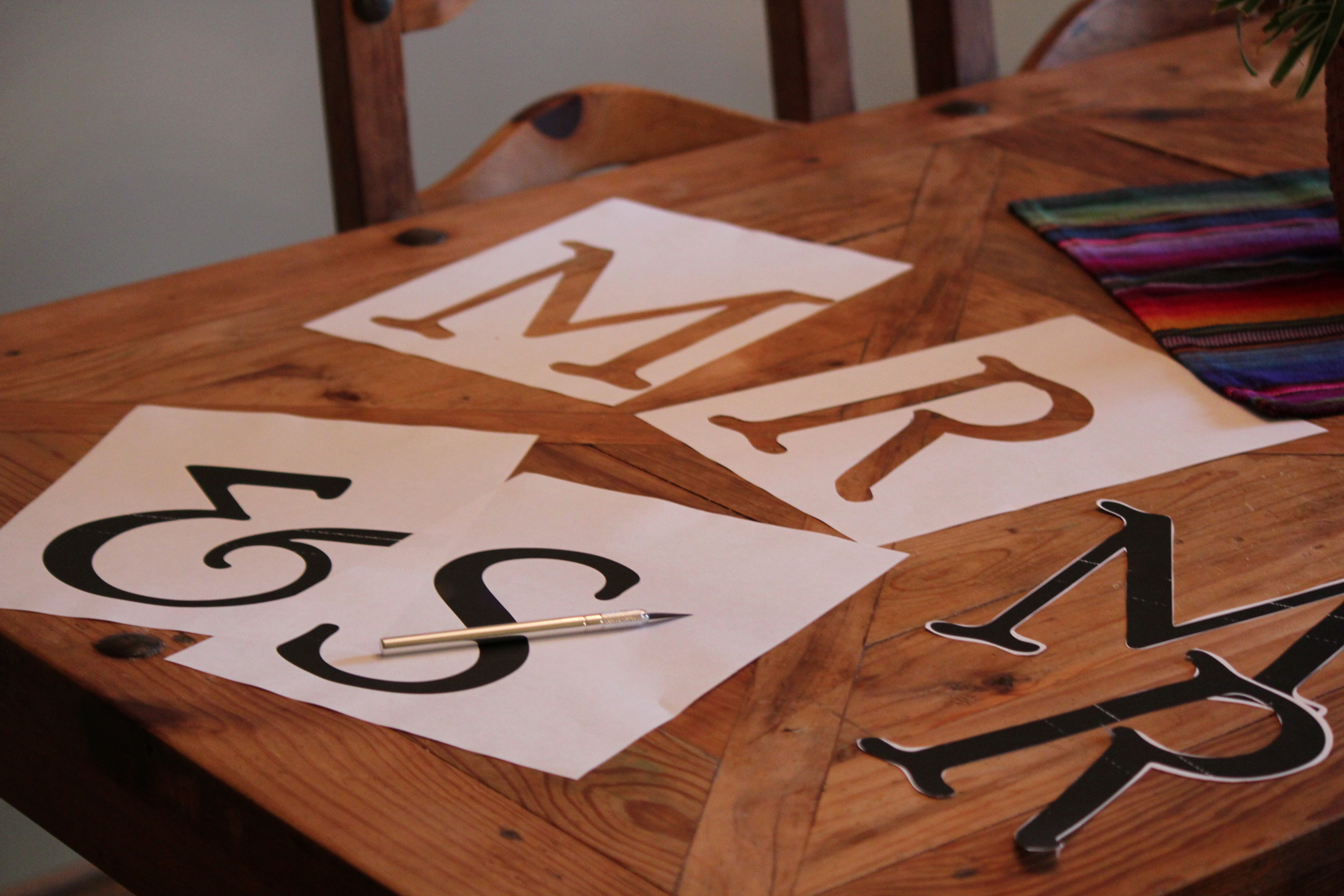How to Make Banner Letters New How to Make A Mr & Mrs Burlap Banner Rustic Wedding Chic
