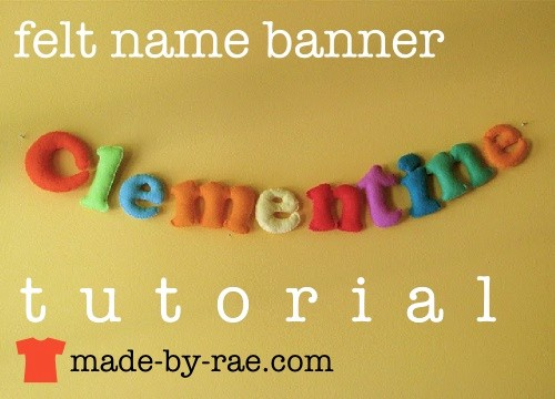 How to Make Banner Letters Unique Made by Rae Tutorials Craft Tutorial Lists