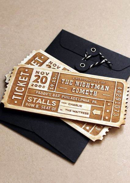 How to Make Concert Tickets Awesome Best 25 Ticket Design Ideas On Pinterest