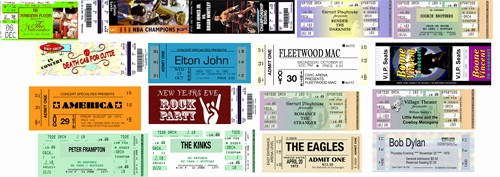 How to Make Concert Tickets Awesome the Art Of Design 26 Tickets