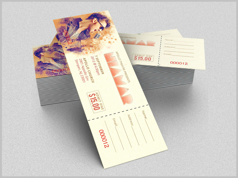 How to Make Concert Tickets Best Of 11 Concert Ticket Templates