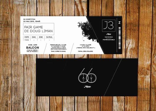 How to Make Concert Tickets Inspirational Best 25 Ticket Design Ideas On Pinterest