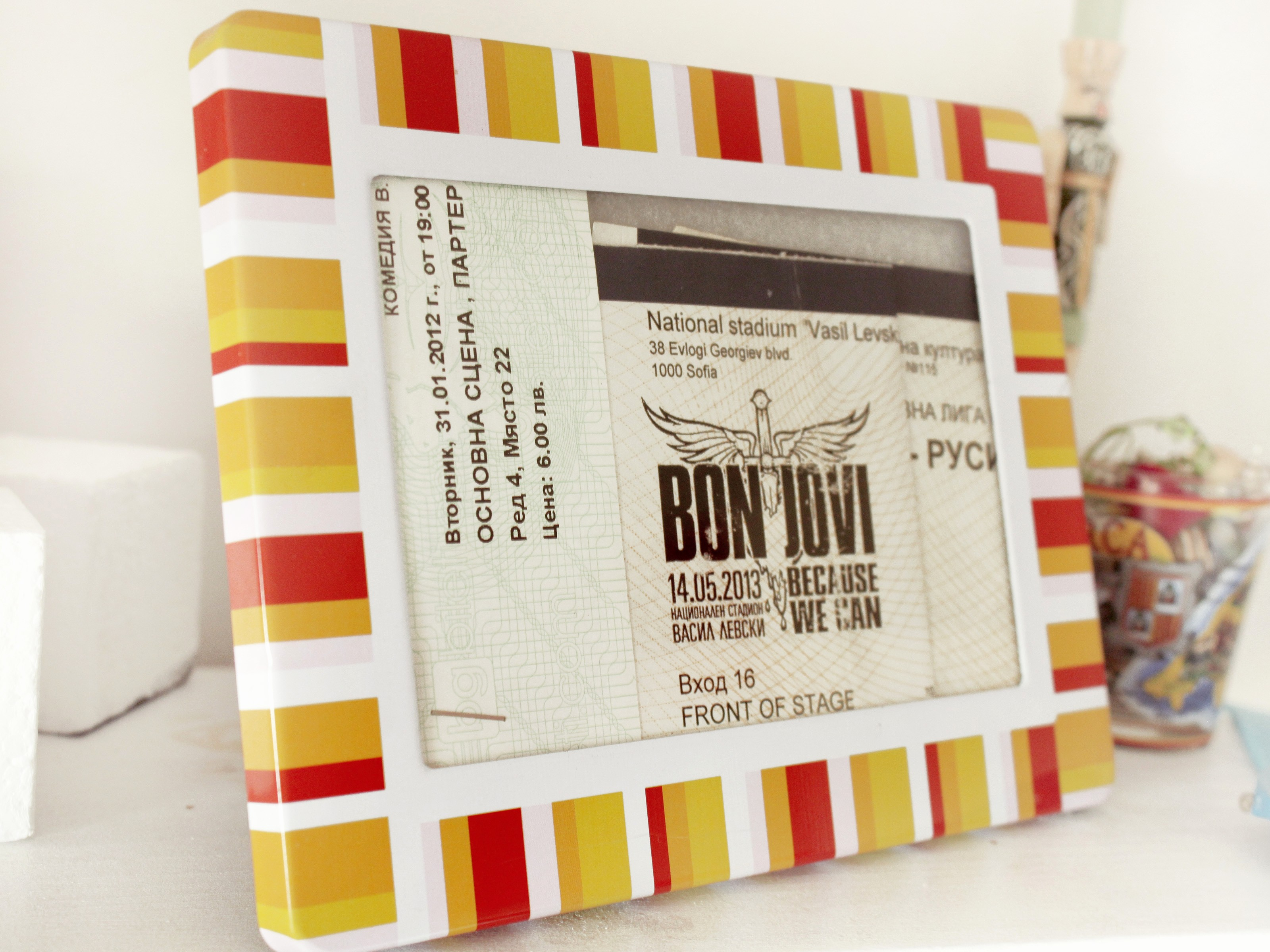 How to Make Concert Tickets Inspirational How to Make Artwork From Movie Concert Tickets 5 Steps