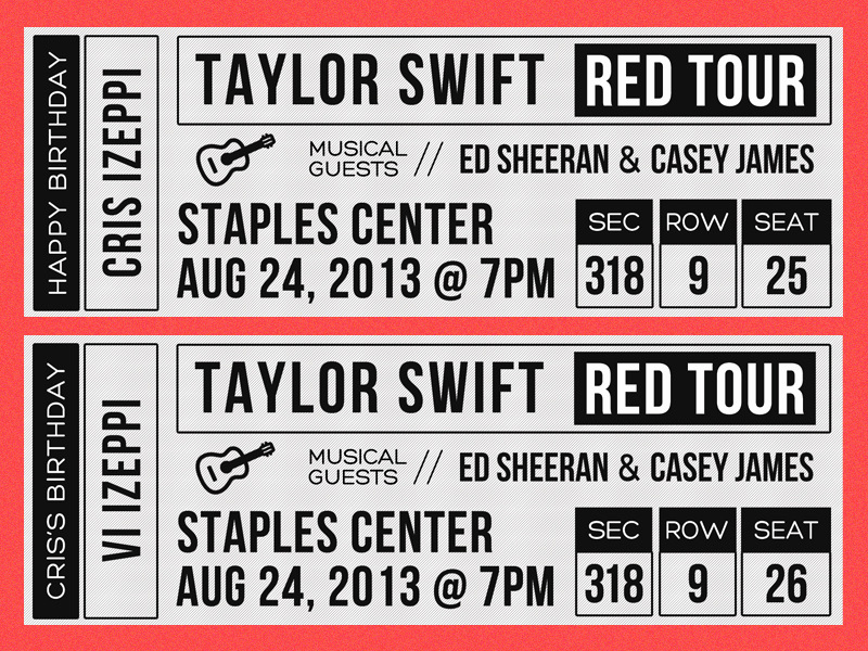 How to Make Concert Tickets Inspirational Taylor Swift Concert Tickets