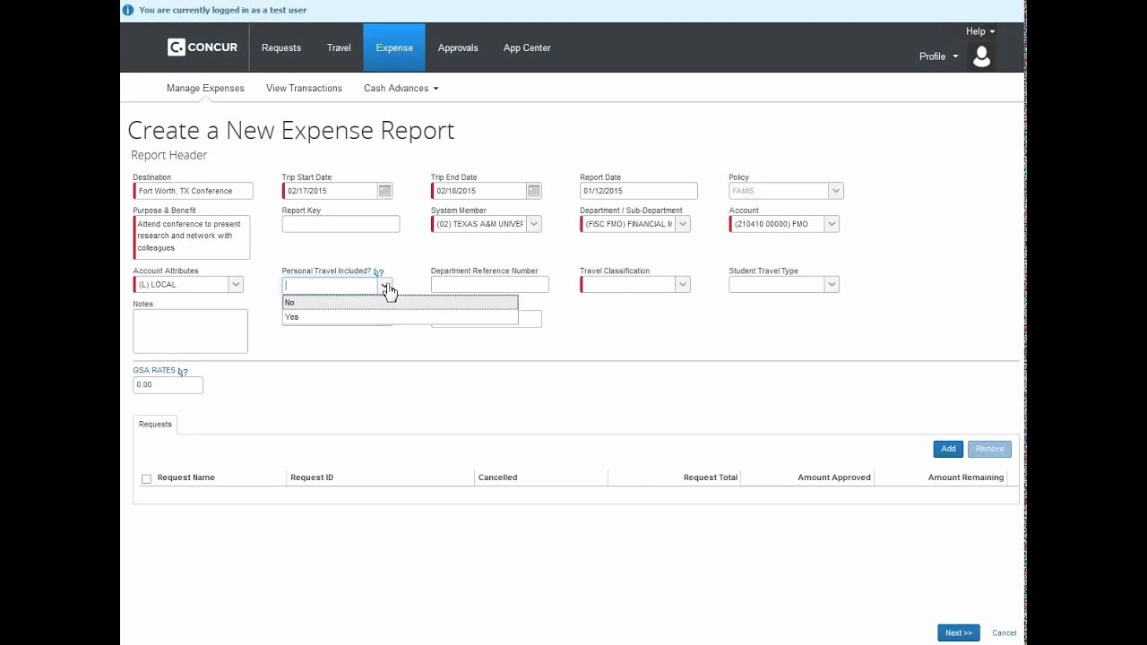 How to Make Expense Report Best Of How to Create An Expense Report without A Request
