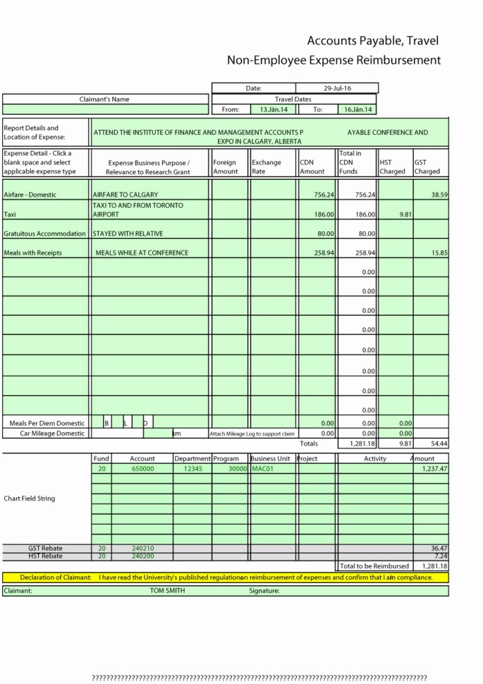 How to Make Expense Report Luxury How to Make A Spreadsheet for Monthly Expenses