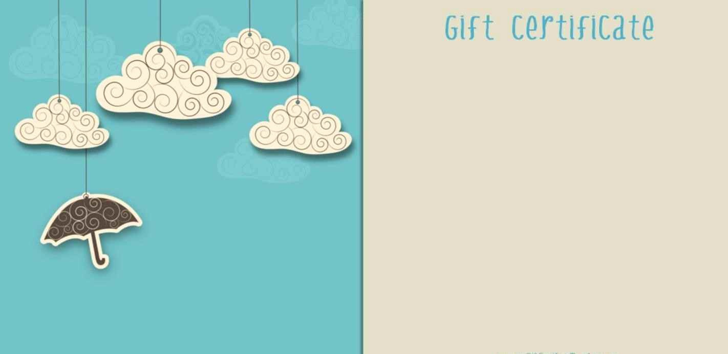 How to Make Gift Certificate Awesome Create Your Own Gift Certificate Template Free Template