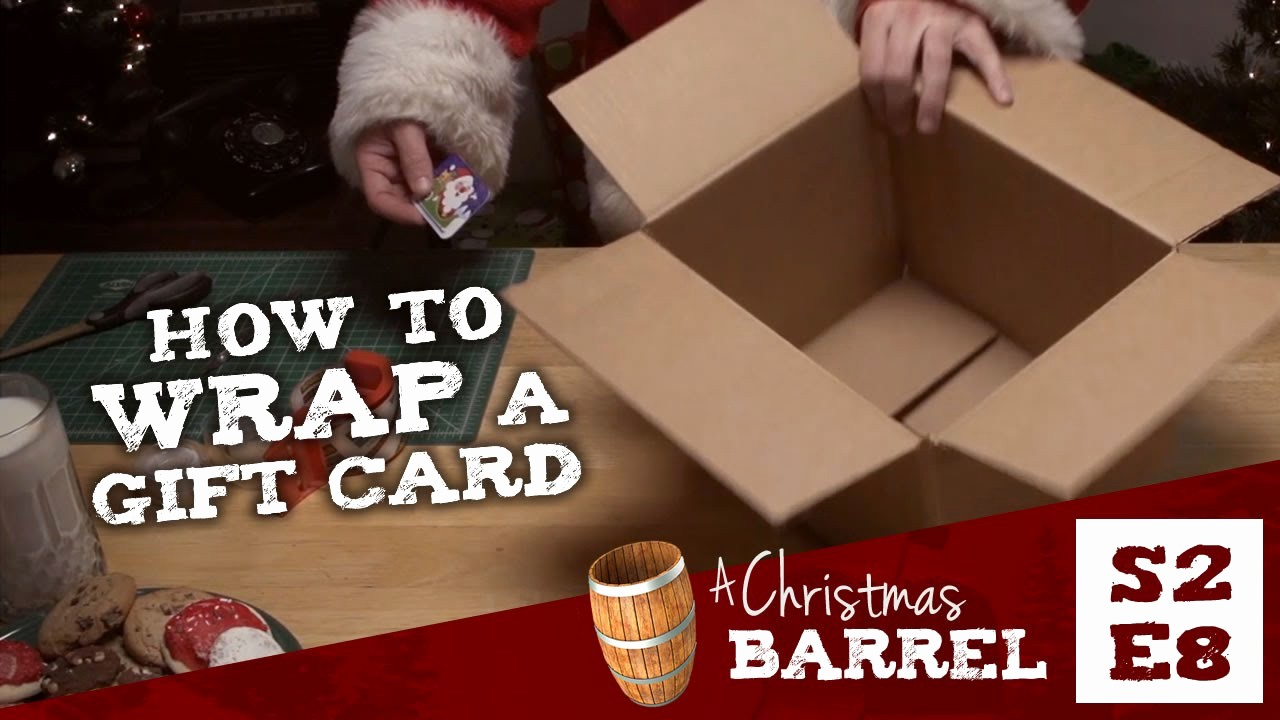 How to Make Gift Certificate Awesome How to Wrap A T Card