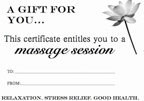 How to Make Gift Certificate Beautiful Appointments