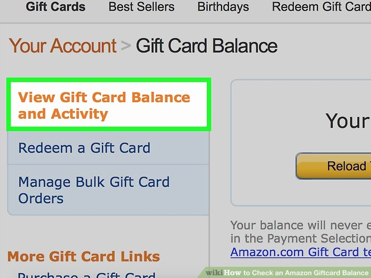 How to Make Gift Certificate Fresh How to Check An Amazon Giftcard Balance 12 Steps with