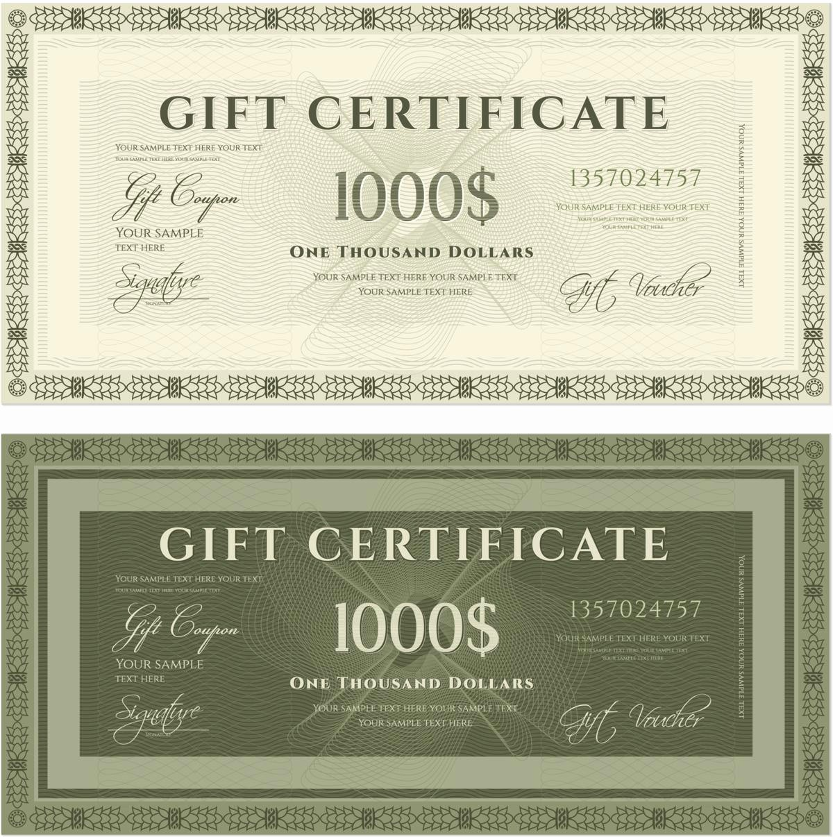 How to Make Gift Certificate Fresh Sample Wordings for Gift Certificates You Ll Want to Copy now