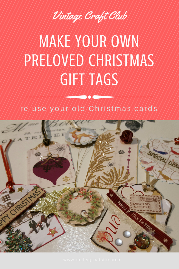 How to Make Gift Certificate Inspirational Make Preloved Christmas Gift Tags From Your Old Christmas