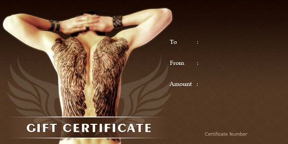 How to Make Gift Certificate Lovely 6 Homemade Gift Certificate Templates Doc Pdf