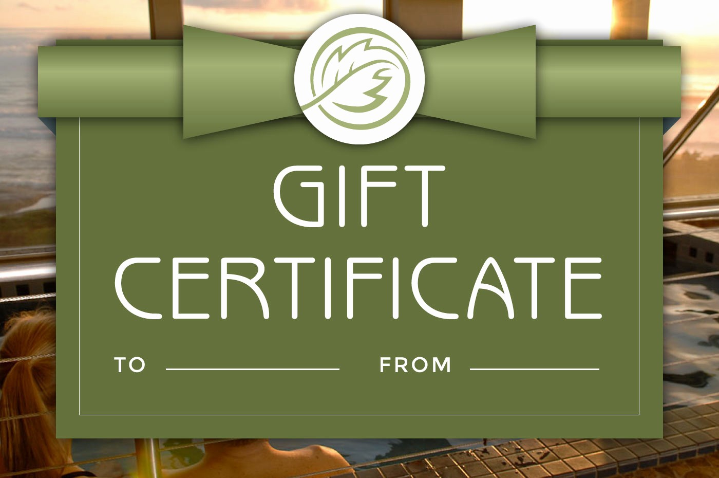 How to Make Gift Certificate Lovely Spa Promotions