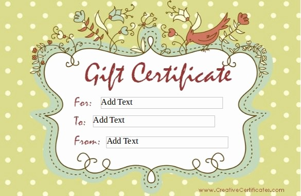 How to Make Gift Certificate New 30 Blank Gift Certificate Templates Doc Pdf