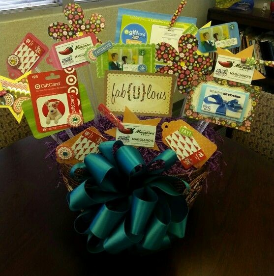 How to Make Gift Certificates Awesome Gift Card Gift Basket Gift Ideas