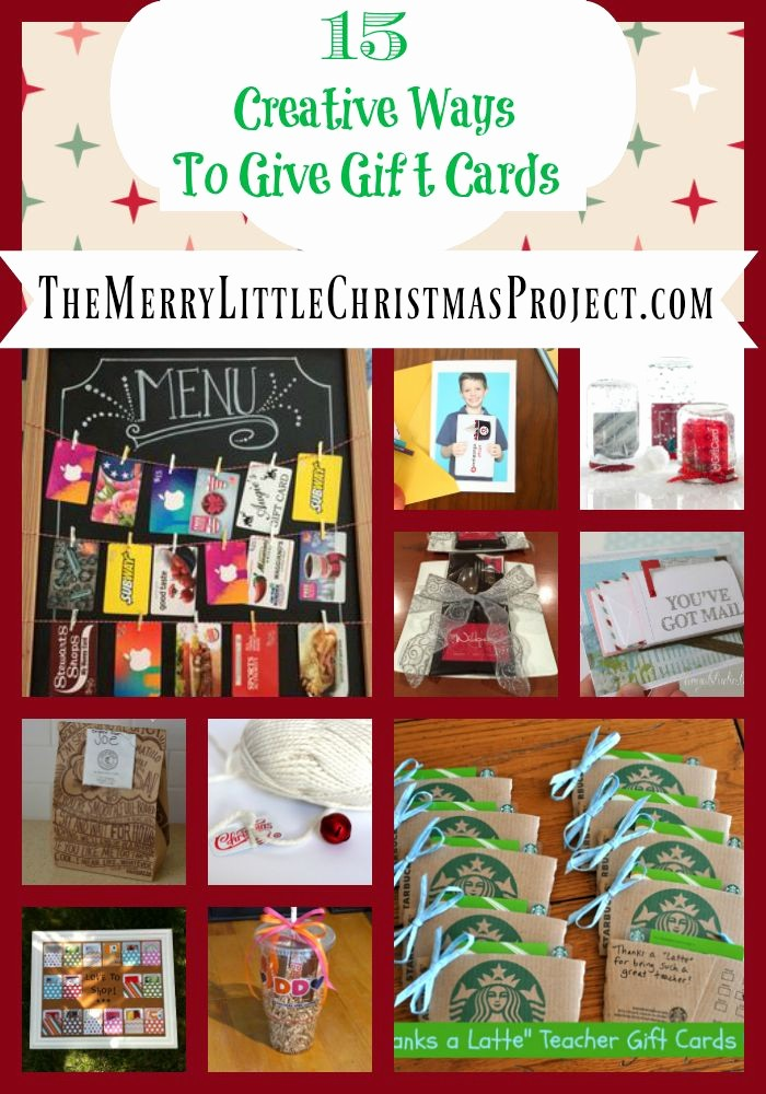 How to Make Gift Certificates Beautiful 15 Creative Ways to Give Gift Cards