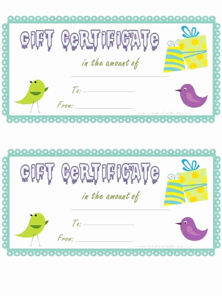 How to Make Gift Certificates Best Of Free Gift Certificate Template