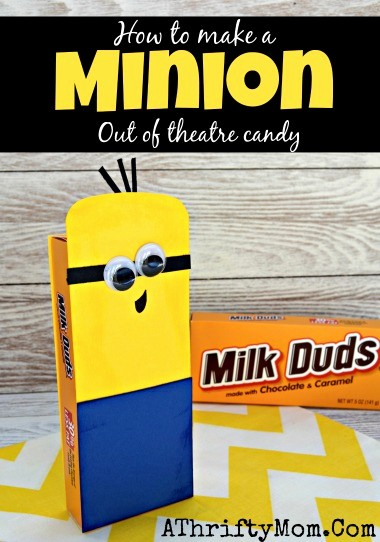 How to Make Gift Certificates Elegant Minion Craft Project How to Make A Minion Out Of theatre