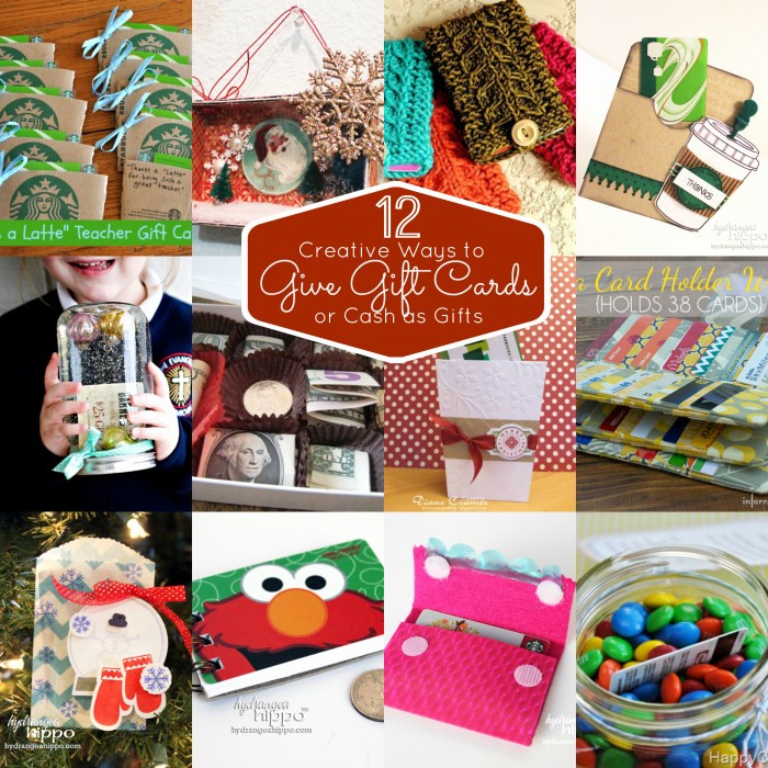 How to Make Gift Certificates Lovely 12 Unique Ways to Give Gift Cards