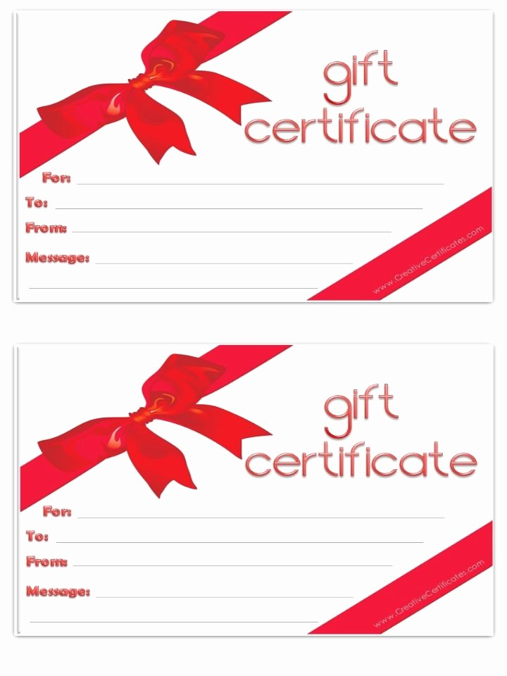 How to Make Gift Certificates Luxury Blank T Certificate Free Printables