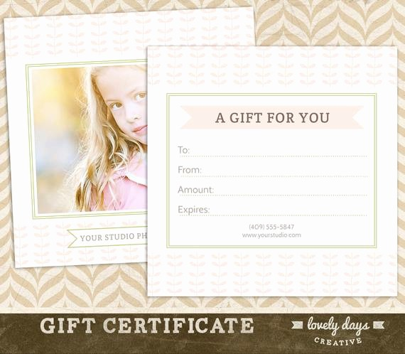 How to Make Gift Certificates New Graphy Gift Certificate Template for Professional