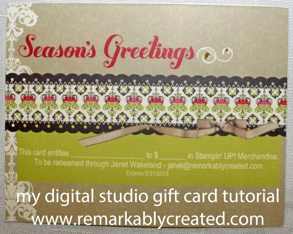 How to Make Gift Certificates Unique My Digital Studio Monday Create Your Own Gift