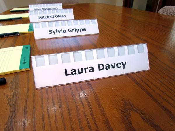 How to Make Name Tents Beautiful Desk Name Plates