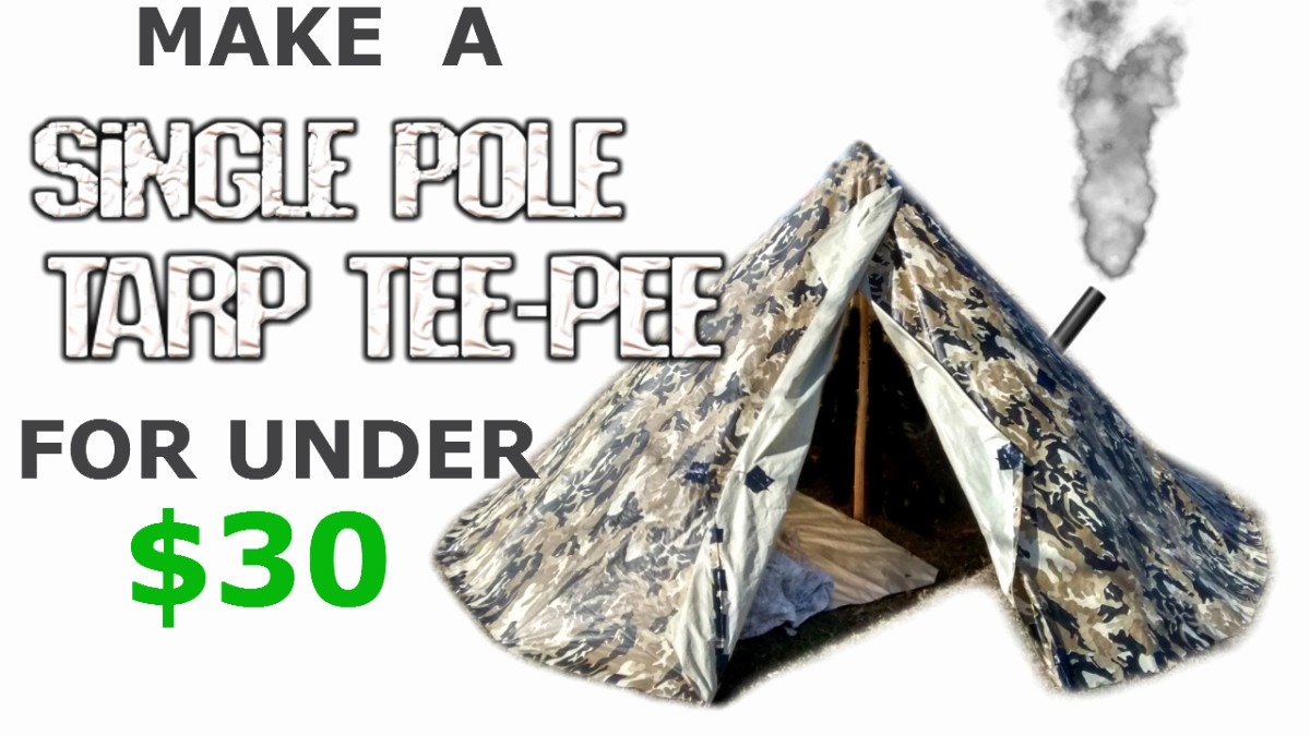 How to Make Name Tents Inspirational How to Make A Tarp Tipi Teepee Survival Tent Shelter