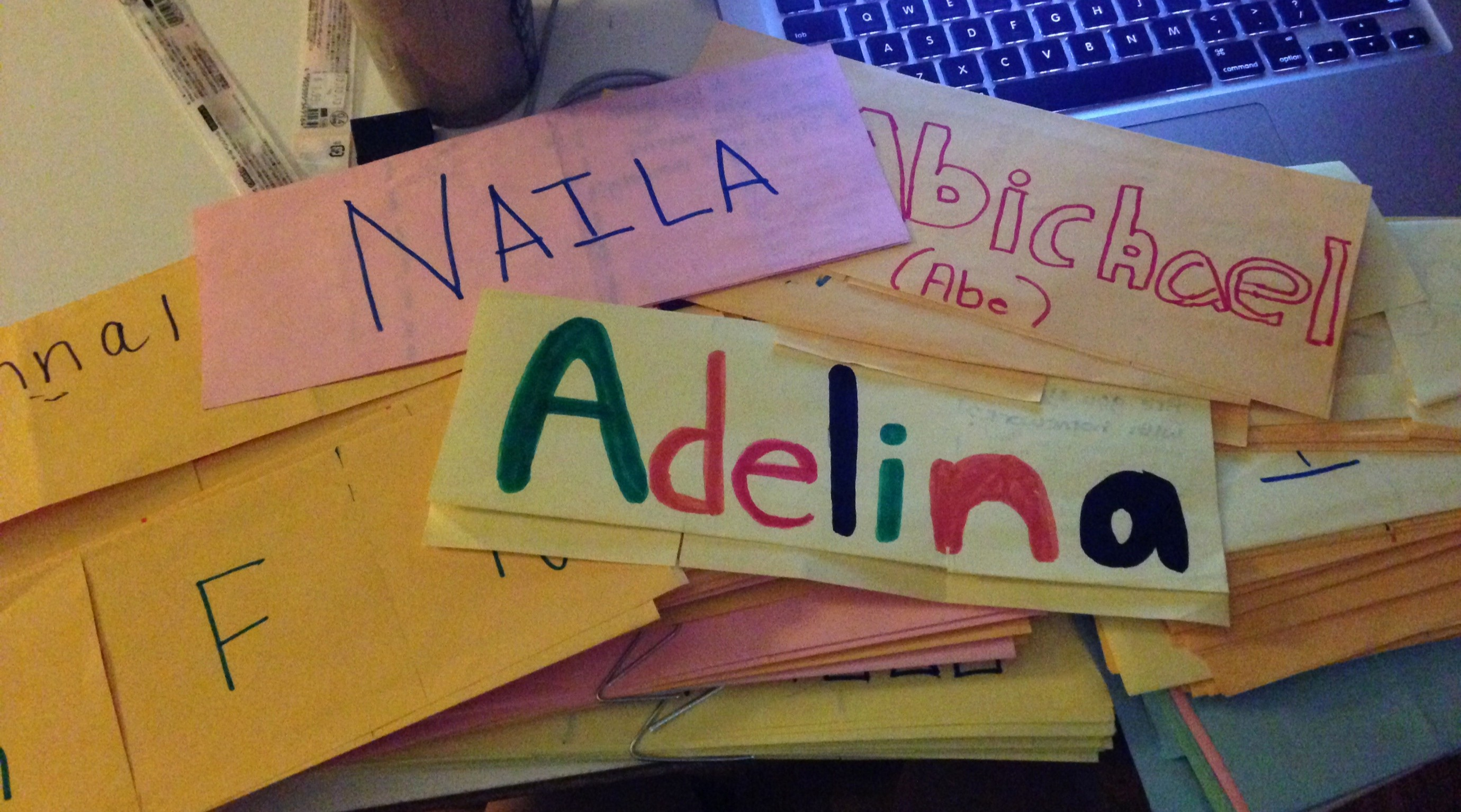 How to Make Name Tents Unique You Can Do Math even if You're Schvitzing