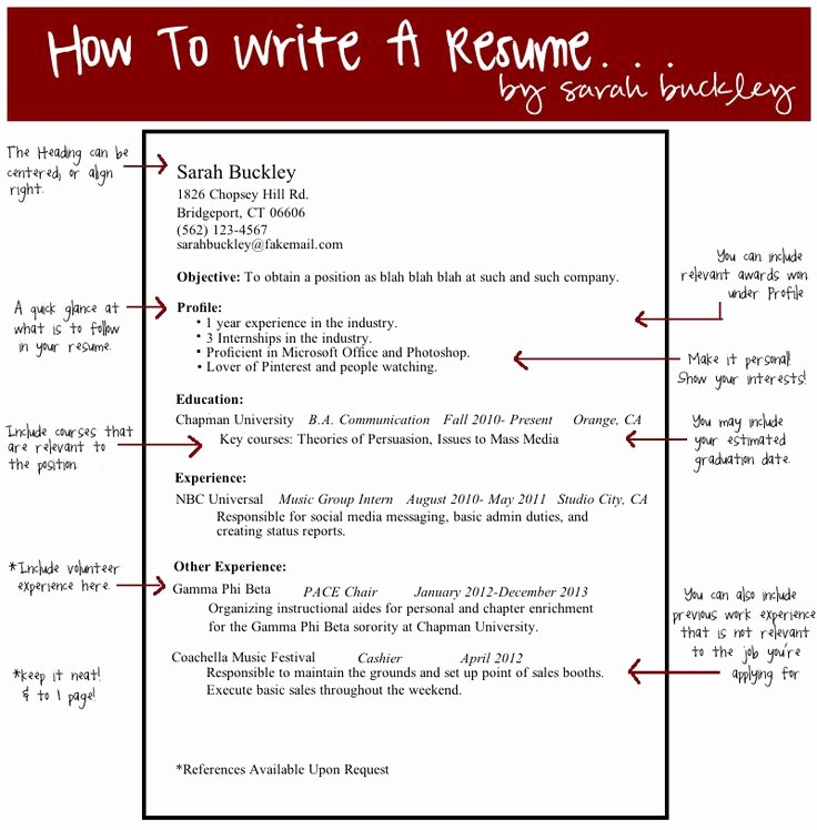 How to Make Simple Resume Fresh 25 Unique Simple Resume Examples Ideas On Pinterest