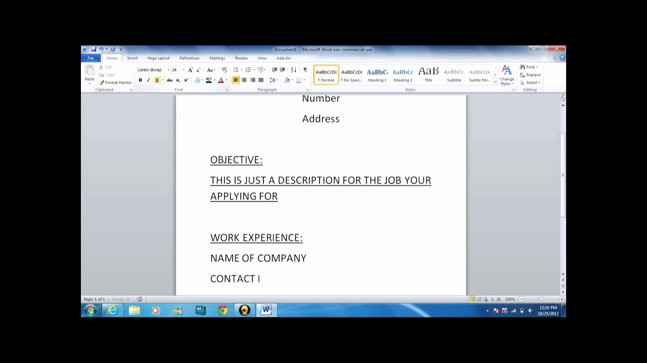 How to Make Simple Resume Luxury How to Write A Basic Resume