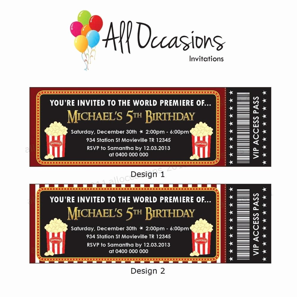 How to Make Ticket Invitations Awesome Etsy Your Place to and Sell All Things Handmade