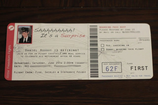 How to Make Ticket Invitations Awesome Golden Dreemz How to Make An Airplane Ticket Invitation