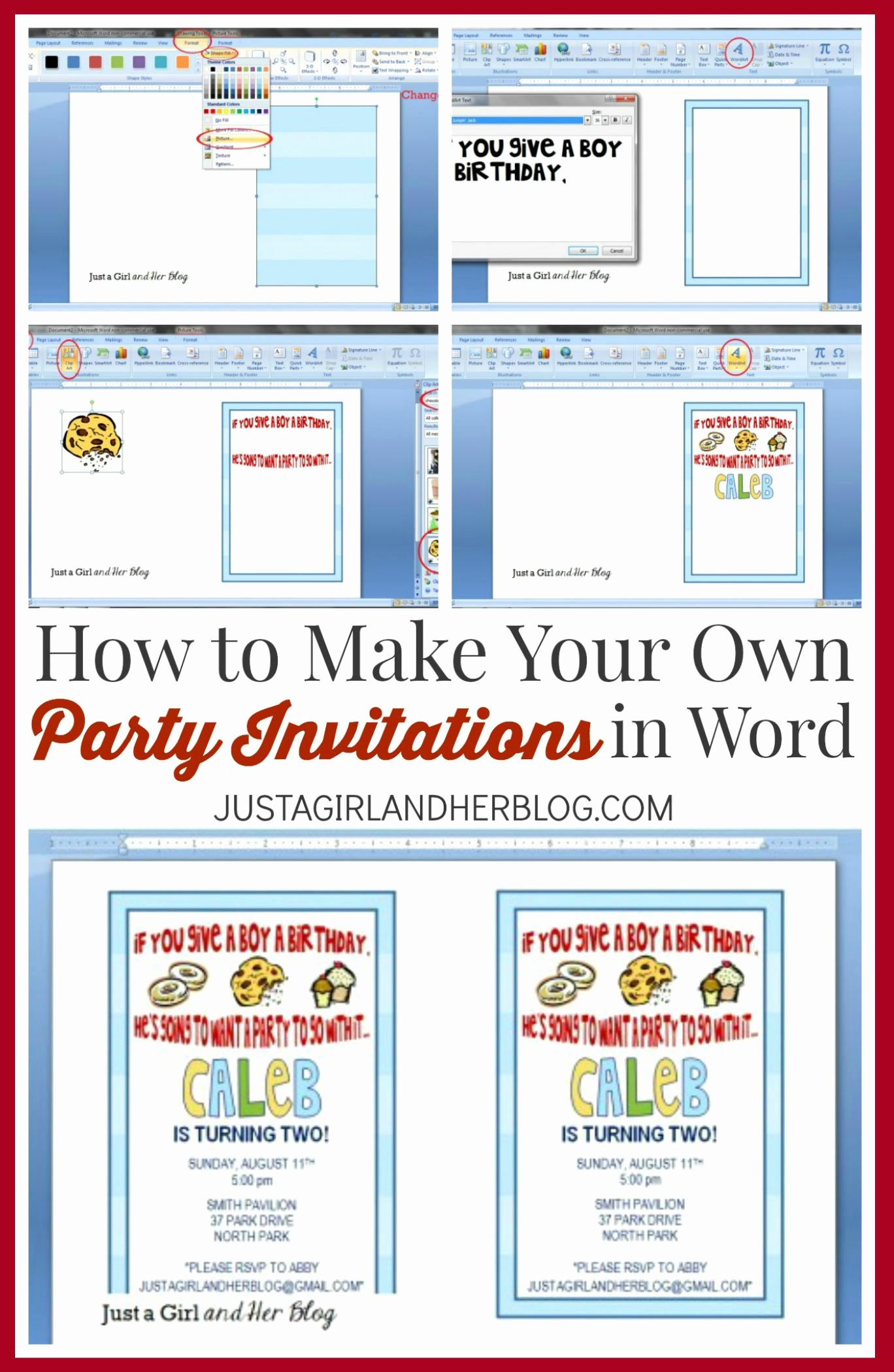 How to Make Ticket Invitations Best Of Make Your Own Party Invitations