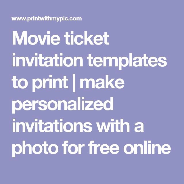 How to Make Ticket Invitations Fresh Movie Ticket Invitation Templates to Print