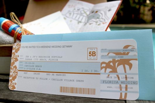 How to Make Ticket Invitations Inspirational Diy Airplane Ticket Invitations