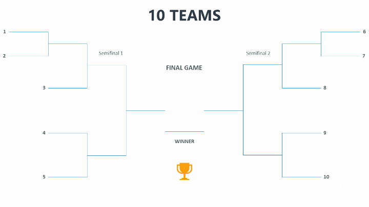 How to Make tournament Bracket Inspirational Powerpoint Templates for tournaments