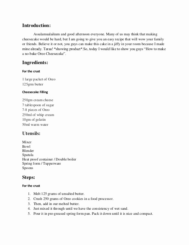 How to Outline A Speech Beautiful Tsl 032 Listening and Speaking Demonstrative Speech Outline