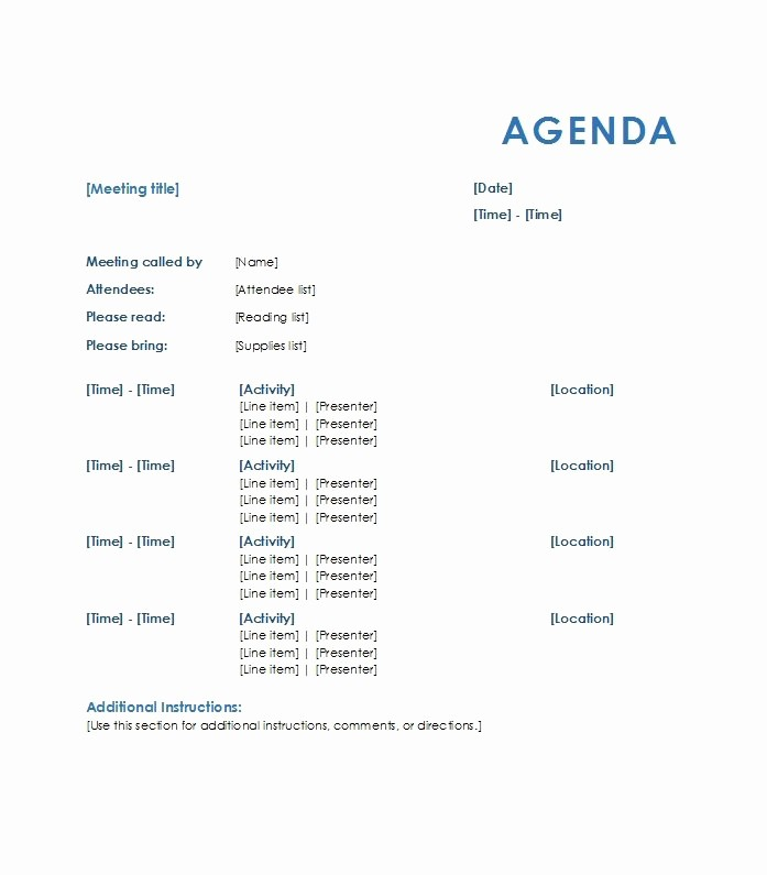 How to Prepare An Agenda Beautiful How to Write An Agenda Template Invitation Template