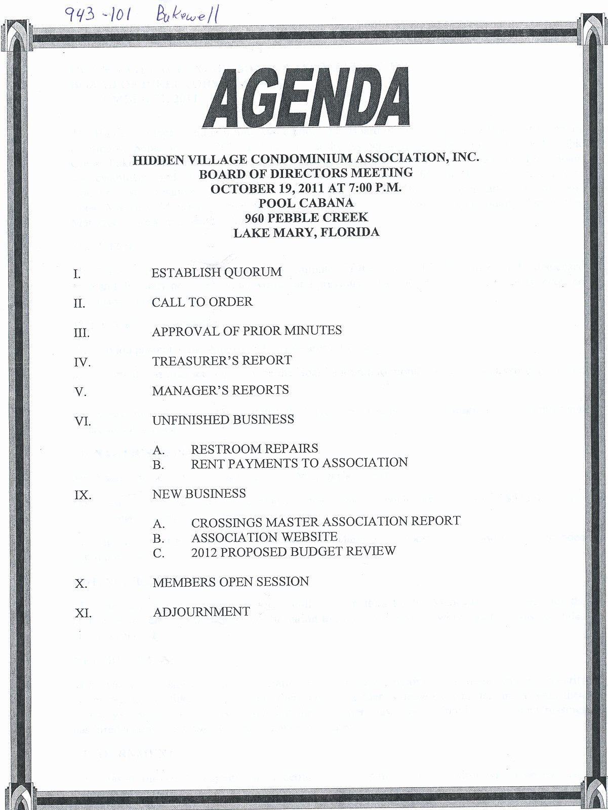 How to Prepare An Agenda Best Of 10 Best Of Meeting Minutes Template Word 2010