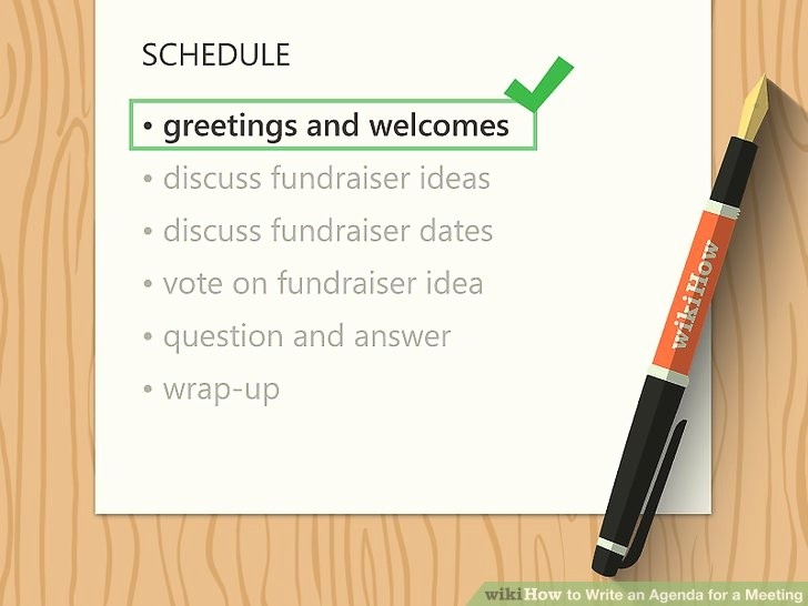 How to Prepare An Agenda Best Of How to Write An Agenda for A Meeting with Sample Agendas
