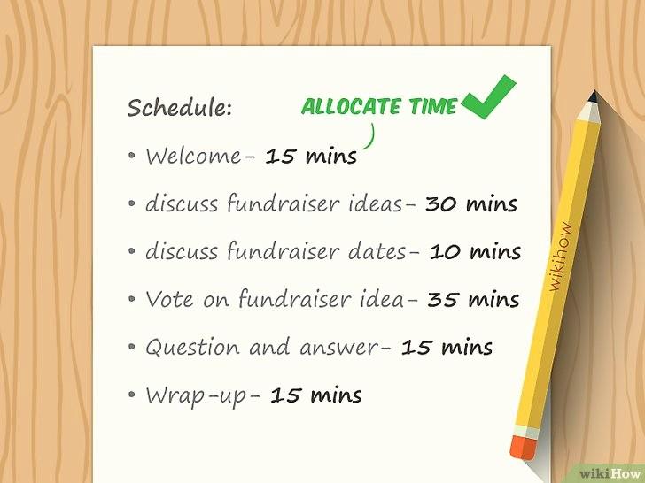 How to Prepare An Agenda Lovely O Escrever Uma Pauta Para Uma Reunião 18 Passos