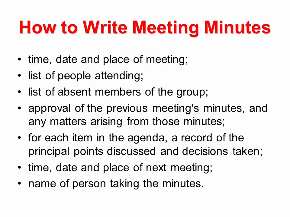 How to Prepare An Agenda Lovely Writing A Business Letter Ppt Video Online