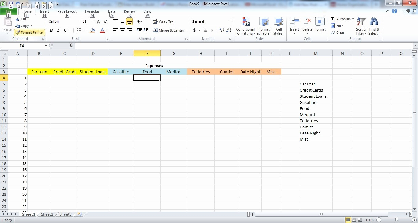 How to Prepare Expense Reports Inspirational How to Make A Simple Expense Spreadsheet