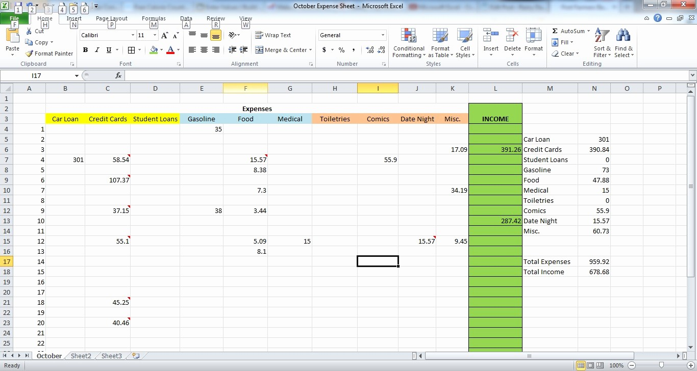 How to Prepare Expense Reports Unique How to Make An Expense Sheet In Excel