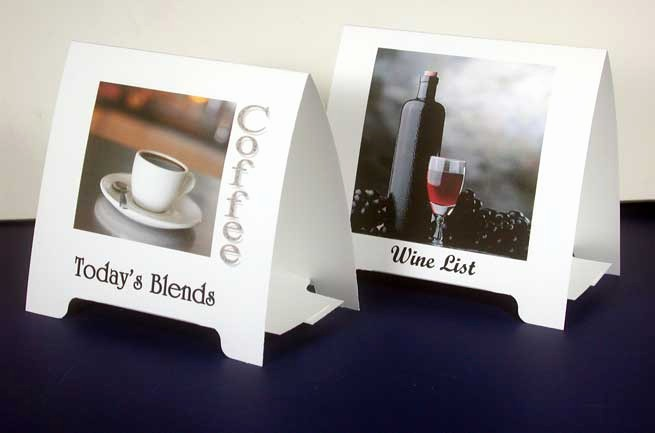 How to Print Table Tents Beautiful Tent Cards Printing In Delhi